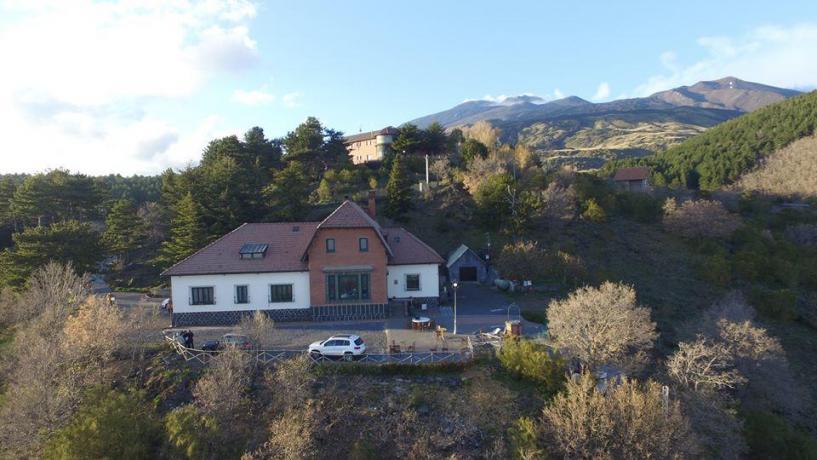 Hotel nella natura sull'Etna
