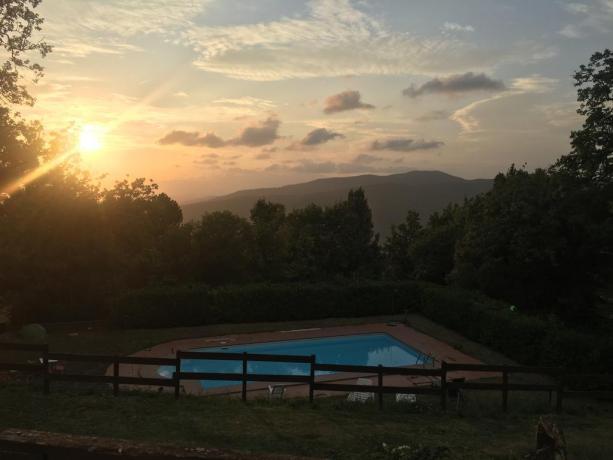 Agriturismo nel Lazio con piscina esterna