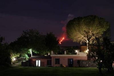 Agriturismo vista dell'Etna