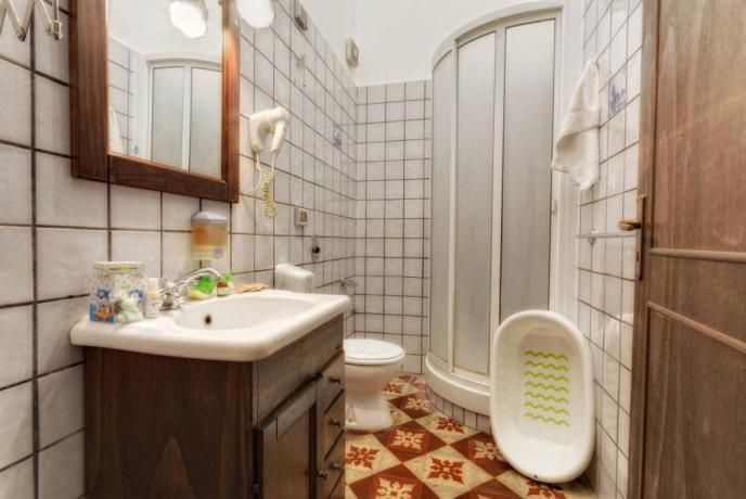 Eco Spa Trapani: Bagno suite Familiare