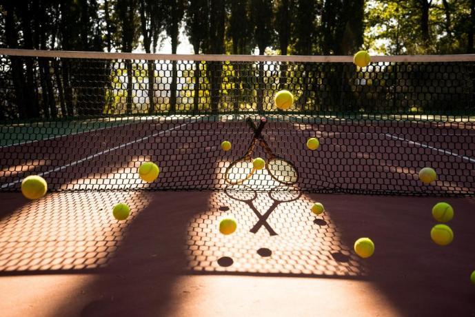 Agriturismo ad Assisi con campo da Tennis