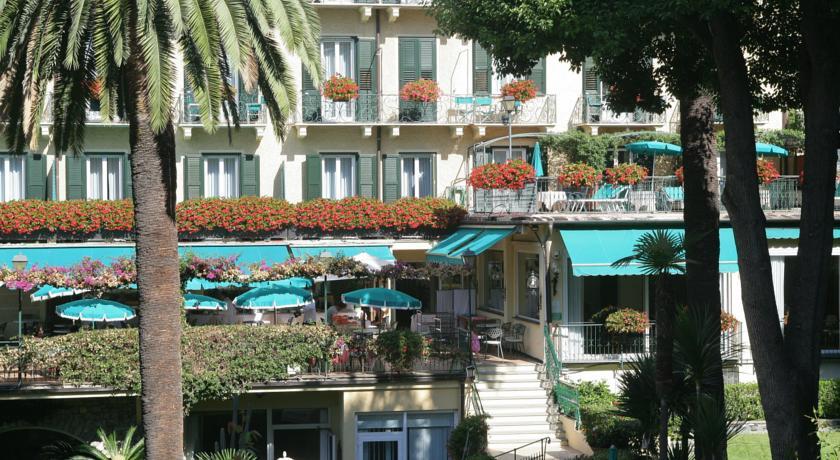 Vista dalle camere dell'albergo