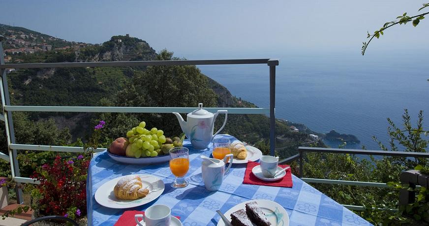 Appartamenti con terrazza panoramica vicino ad Amalfi