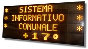 Vendita display  a Led Multiriga