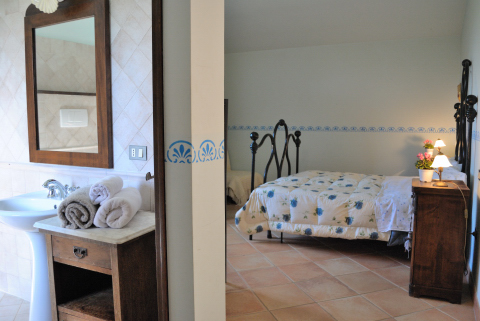 Camera da letto con bagno privato
