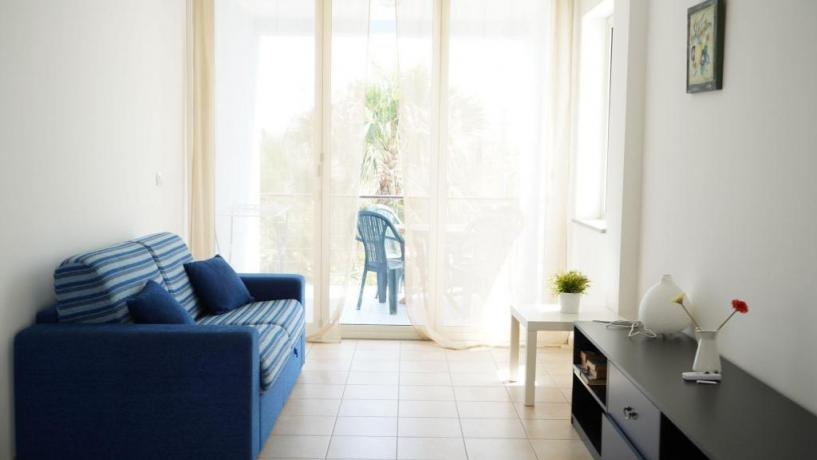 Appartamento con Soggiorno e divano letto