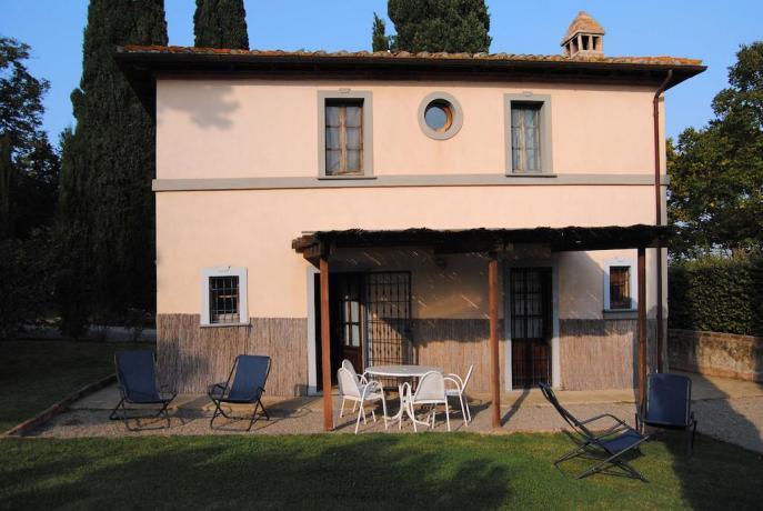 Appartamenti con piccolo cortile Perugia