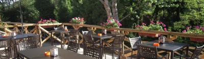Terrazzo del bar e ristorante