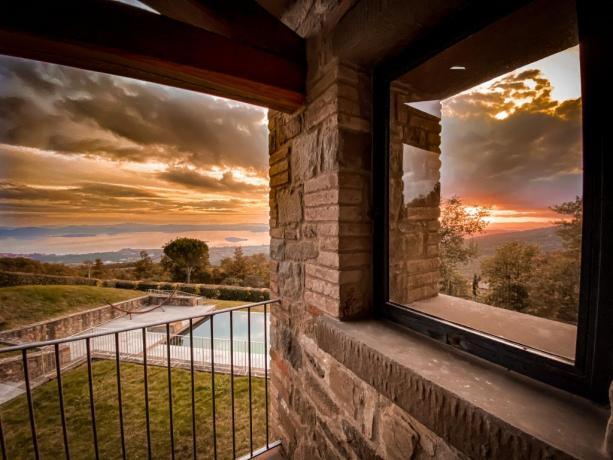 Vacanze in Umbria villa 6 persone Lago Trasimeno
