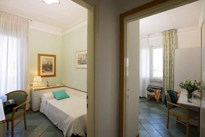 Camera familiare comunicante al mare Castiglione-della-Pescaia