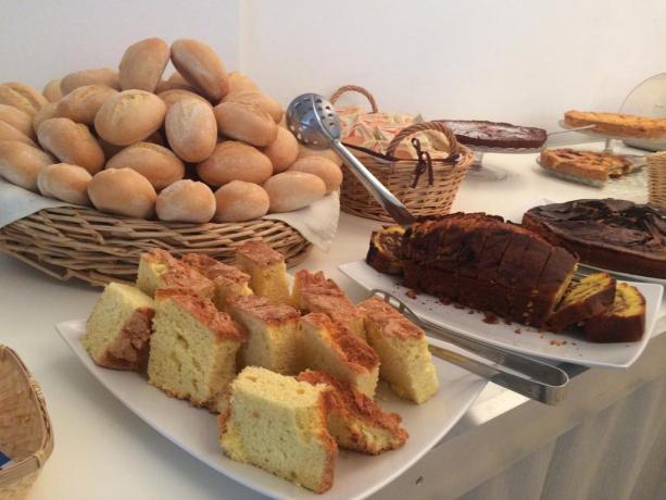 Prima colazione a buffet, Hotel a Cattolica