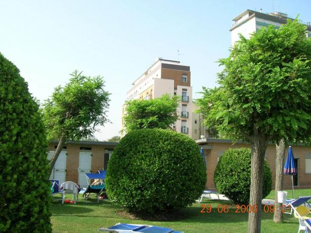 Appartamenti in Emilia Romagna con giardino curato
