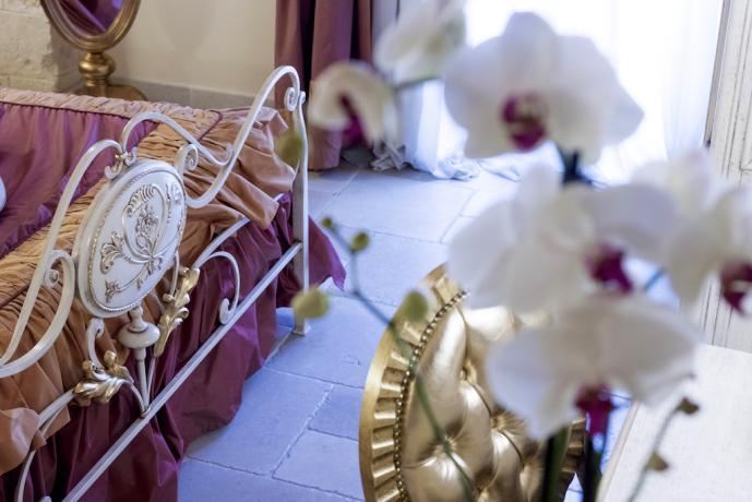Camere con complementi di lusso nel Salento