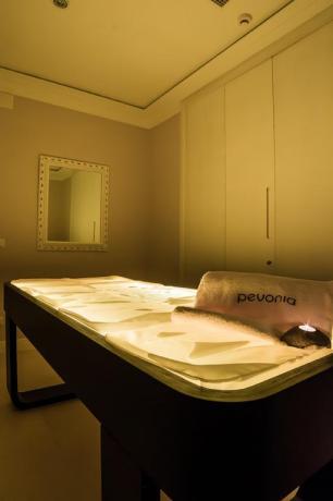 Sala relax con massaggi in Hotel a Fiuggi