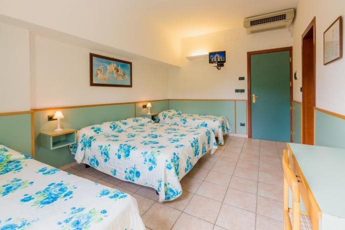 Hotel Assisi: camera quadrupla per famiglie