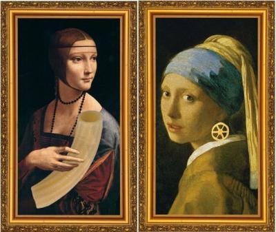 La pasta nelle opere d'arte