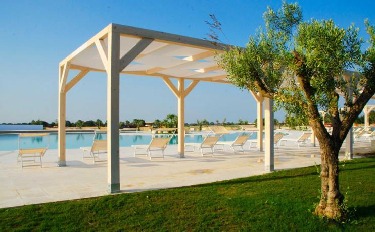 Residence con Appartamenti Vacanza e Piscina sul Metaponto