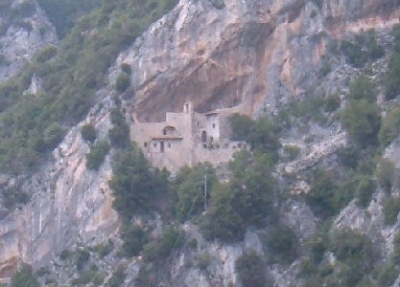 Religious retreat in Pale near Foligno