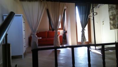 Appartamento Crux soggiorno luminoso