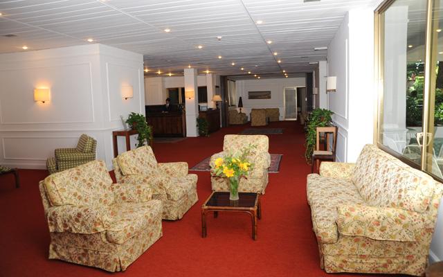 Sala lettura in hotel 3 stelle a Fiuggi