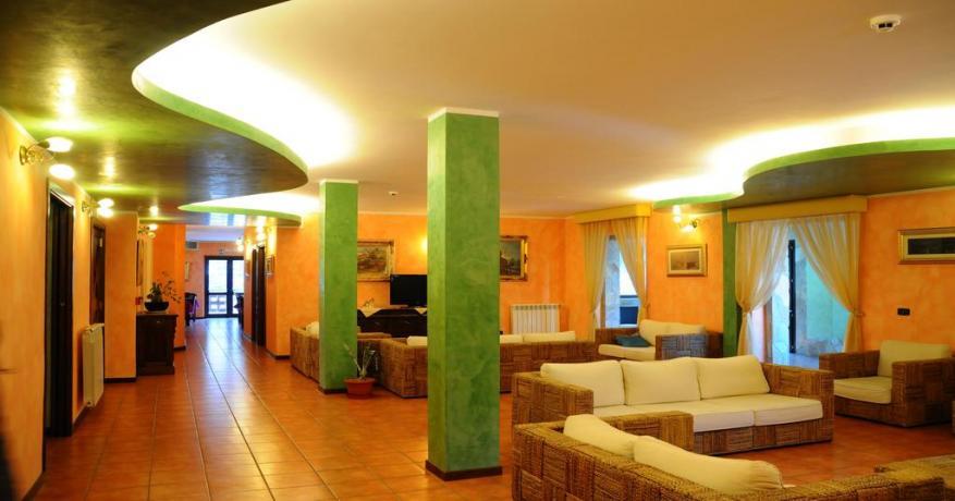 Salone comune hotel Alfedena Parco Nazionale d'Abruzzo
