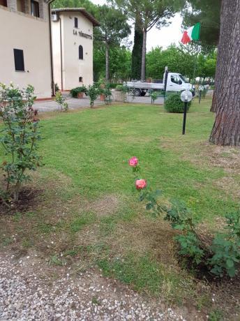 Giardino Vicino Assisi in Hotel sul Chiascio
