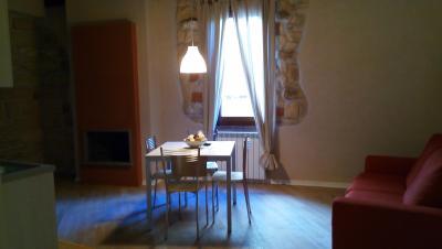 Appartamento Posterola soggiorno con Camino
