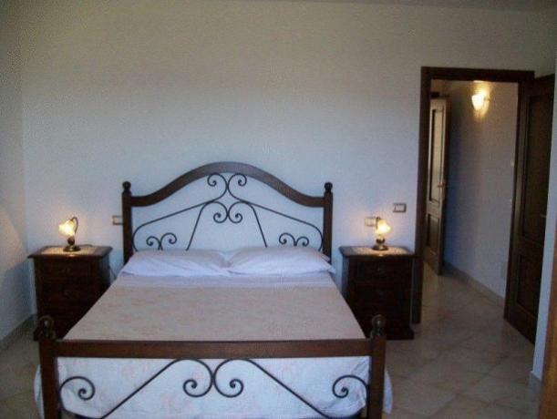 Appartamento a Montefalco - camera da letto
