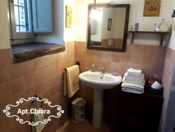 Appartamento in Castello antico: Bagno
