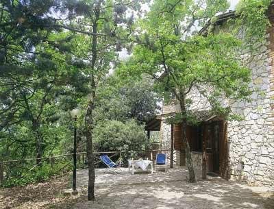 Villaggio panoramico immerso nel verde, Corciano