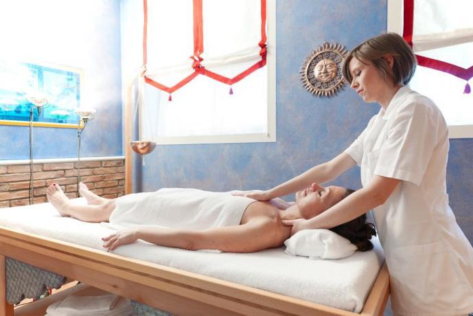 Zona relax sala per trattamenti e massaggi