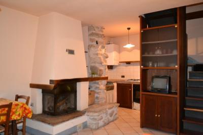 Appartamento Rosetta soggiorno con Camino