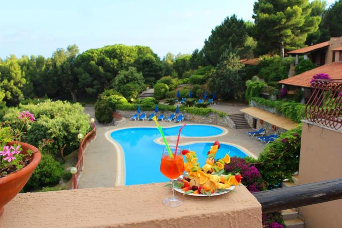 Hotel con piscina privata a Palinuro