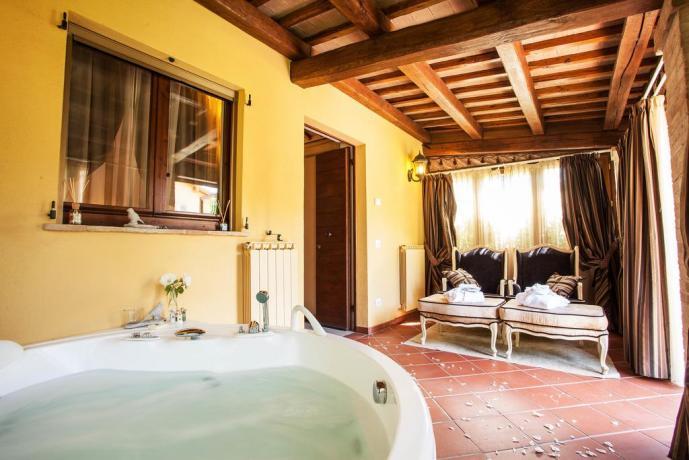 Suite/camera con vasca idromassaggio interna