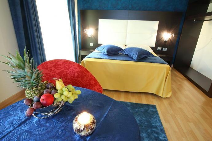 Suite Romantica dell'hotel vicino Cosenza
