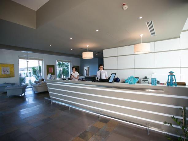 Sala ingresso grand hotel del Golfo Manfredonia