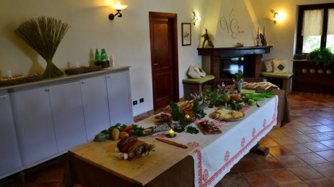 Cibi salati buffet Casale a Montecchio