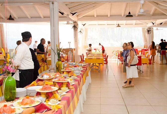 Sala da pranzo in Villaggio