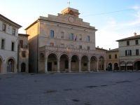 Detail of Montefalco historical centre