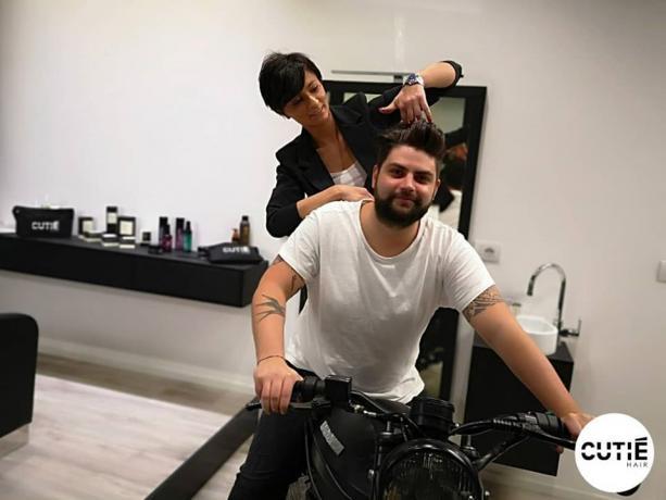 Shooting Barba Uomo, #barbershop