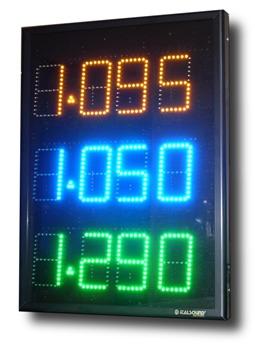 Vendita visualizzatore prezzo carburante a Led alta visibilità
