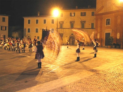 Festa medievale a Montefalco