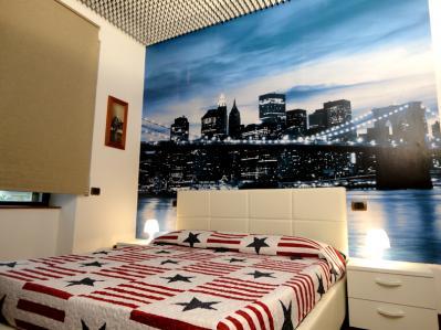 dormire vicino stazione Pavia: Camera New York