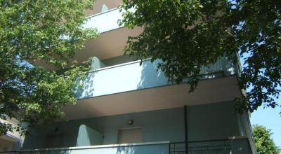 Residence Rimini appartamenti con balcone attrezzato