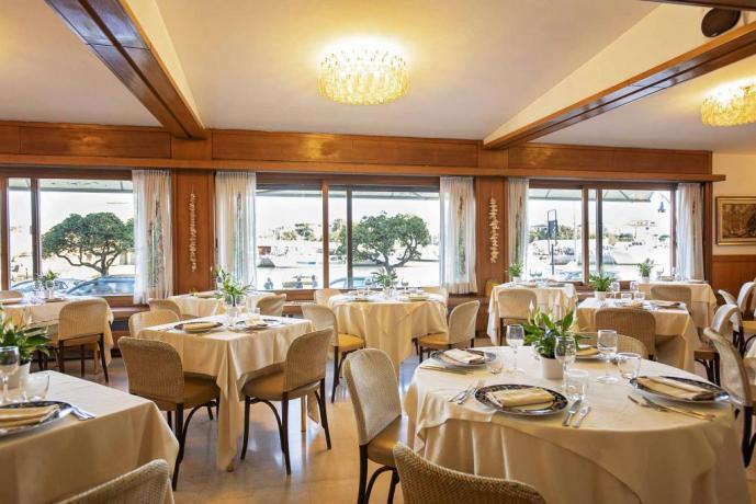 Ristorante vista mare hotel4stelle Castiglione-della-Pescaia