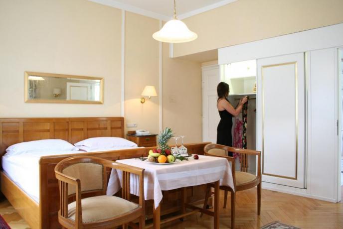 Camera matrimoniale romantica Hotel Trentino