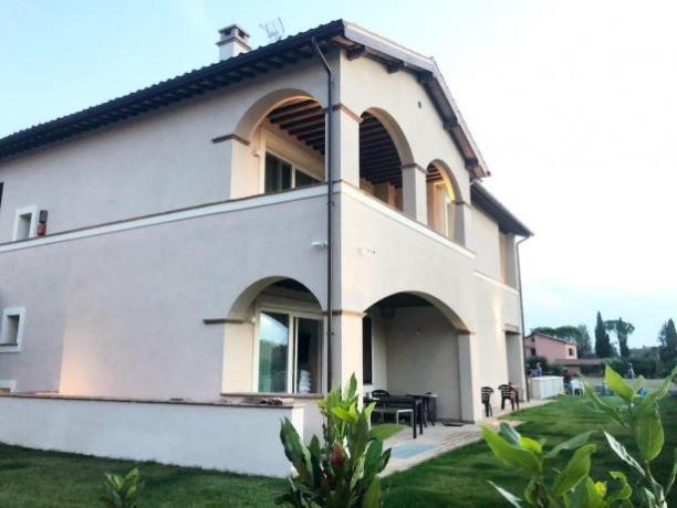 Villa a Foligno per Vacanza, Camere lusso