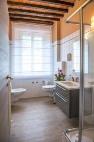 Bagno della Suite con box doccia