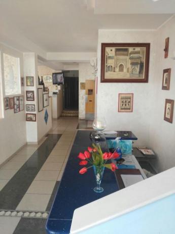 Hall Hotel fronte Mare a Campofilone