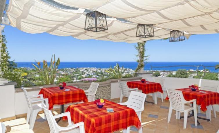 Veranda Hotel ad Ischia per cene romantiche